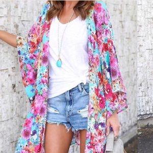 Floral kimono 💐